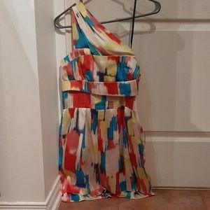 BCBG multi colour dress